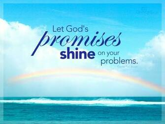 Gods Promises Desktop Wallpaper   Backgrounds