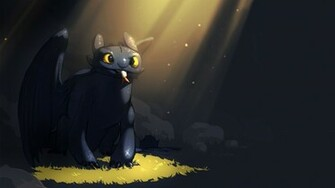 How to Train Your Dragon Toothless   Wallpaper High Definition High