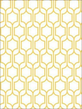 trellis geometric wallpaper yellow graphic print wallpaper