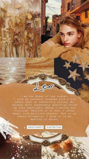 Wallpapers SHE THE SPY in 2020 Leo Astrology Zodiac art