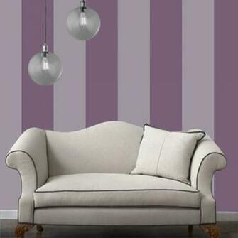 Temporary Wallpaper   Striped   Purple