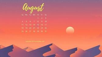 August 2019 Calendar Images For Desktop Background Calendar
