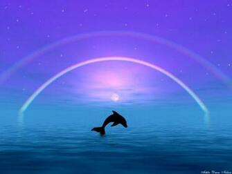 3D Dolphin wallpaper Dolphins 3d Dolphin Wallpaper