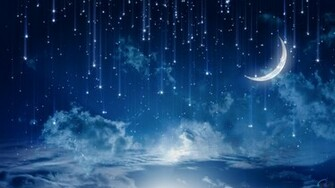 Download Wallpaper Mystical meteor shower 1600 x 900 widescreen