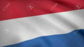 Luxembourg Flag Waving Seamless Loop Flag Of Luxembourg 3D