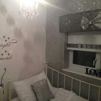 Glitter Wallpapers for walls Glitter Wall paper Fabric 22 Meter Width