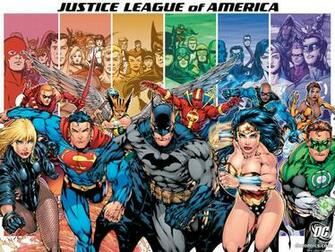 JLA   DC Comics Wallpaper 16384844