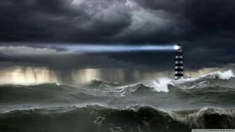 Sea Storm Wallpaper 1920x1080 Sea Storm