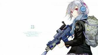 Anime sniper girl Wallpaper 662