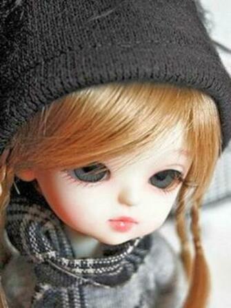 Unique HD Wallpapers 4U Cute Barbie Doll Sad HD Wallpaper