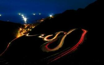 Night Lights Wallpaper 1680x1050 Night Lights Roads