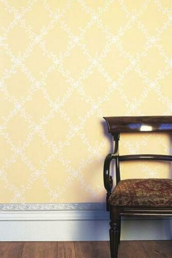 Toile Trellis BP 644 Dining Room Trellis Bp Farrow Ball Wallpapers