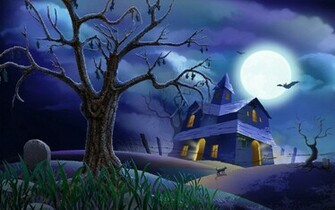 wallpaper 3d Halloween Wallpaper For Mac