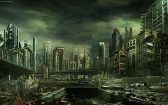 Destroyed City Wallpapers   Full HD wallpaper search