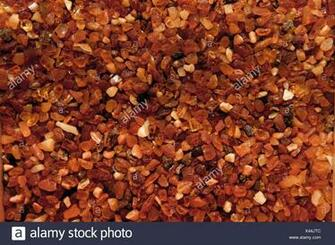 Many small ruby diamond stones luxury background Stock Photo