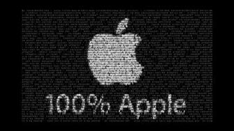 Apple Logo Wallpapers Black and White HD Wallpaper HD