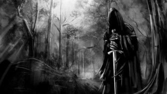 Lord of The Rings Black Wide HD Wallpaper   Stylish HD Wallpapers
