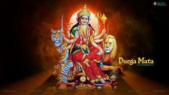 Goddess Durga HD widescreen Wallpaper Download