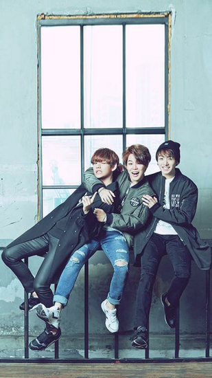 Taehyung Jimin Jungkook Bts maknae line Bts Bts