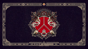 DEFQON1 2017 logo wallpaper hardstyle