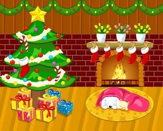 Christmas Cartoon   Wallpapers Pictures Pics Photos Images