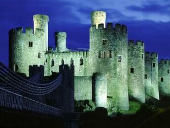 Conwy Castle Gwynedd Wales United Kingdom Screensaver