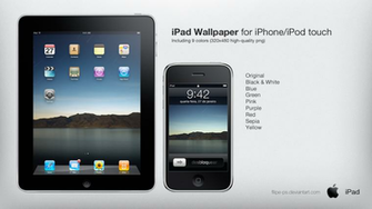 iPad Original Wallpaper by filipe ps