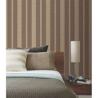 298 30368 Burgundy Stripe   Napoleon   Beacon House Wallpaper