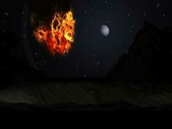 Fire Screensaver Screensavers   Download Space Fiction Fire