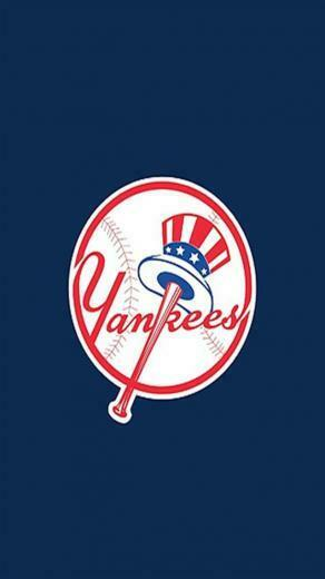 York Yankees 2 LOGO iPhone Wallpapers iPhone 5s4s3G Wallpapers