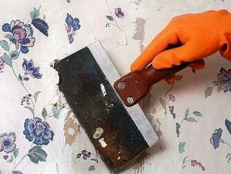 Removing wallpaper is not quite an easy job Actually it can drive