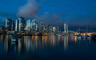 Vancouver City Wallpaper Background