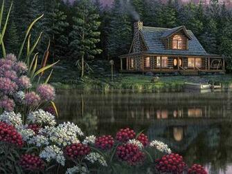Dom Nad Jeziorem Kwiaty