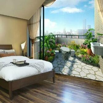 com Buy ShippingFashion 3d wallpapermuralsbalcony TV wall