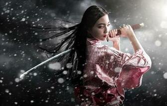 samurai girl wallpaper fantasy wallpapers 11660 samurai girl Car