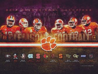 Harley Creative 2014 Clemson Football Wallpaper