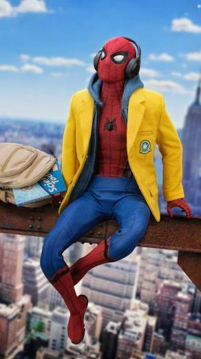 Top Spiderman Wallpapers   PS4 Homecoming Into the Spider Verse