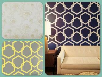 Floral Apartment Temporary Wallpaper Oak Park Temporary Wallpaper