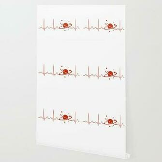Cosmologist Heartbeat Wallpaper by sophiafashion Society6