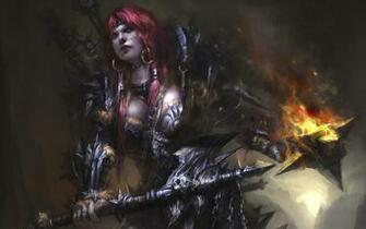 games redheads fantasy art armor barbarian artwork HD Wallpapers