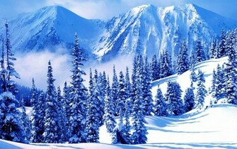 HQ Winter Mountains Wallpaper   HQ Wallpapers