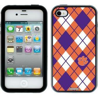 Clemson   Argyle Clemson design on iPhone 4s 4 Guardian Case by