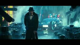 BLADE RUNNER drama sci Fi thriller action rain hf wallpaper background