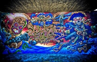 Abstract Graffiti Street Art Wallpapers Pictures