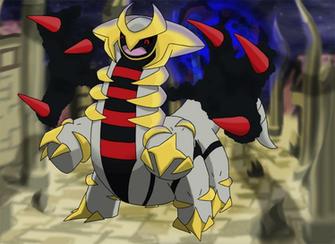 Favourite Ghost type Pokemon Giratina by Kumata