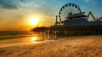 35 Los Angeles Beach Sunset Wallpapers   Download at WallpaperBro