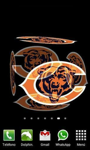 View bigger   3D Chicago Bears Wallpaper for Android screenshot