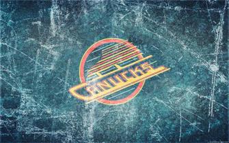 Canucks Vintage Ice Wallpaper by DevinFlack