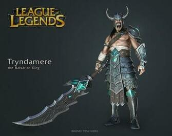 Tryndamere the Barbarian King   Small by Peschiera