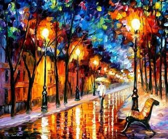 Pinturas al Oleo por Leonid Afremov   Taringa